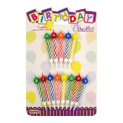 BIRTHDAY CANDLE SET (24 PCS) PF-6578