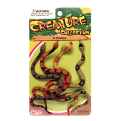 4 PCS SNAKES - 2 ASSORTMENT (24 PCS) NV-0004
