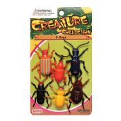 6 PCS BUGS - 2 ASSORTMENT (24 PCS) NV-0009