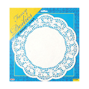 "15 PCS 12"" WHITE DOILIES (24 PACKS) PF-8561"
