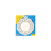 "60 PCS 4.5"" WHITE DOILIES (24 PACKS) PF-8551"
