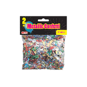 2 OZ. METALLIC CONFETTI (24PACKS) PF-8024
