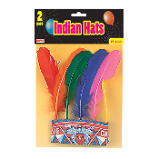 3 PCS INDIAN HATS (24 PCS) PF-8049