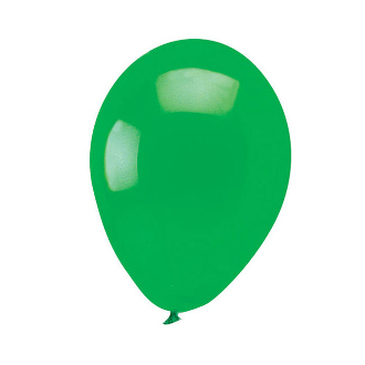 "13 PCS 10"" LATEX BALLOON - GREEN (24 PCS) PF-6897"