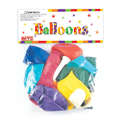 "13 PCS 10"" LATEX BALLOON - ASSORTED (24 PCS) PF-8008"