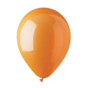 "12 PCS 12"" LATEX BALLOON - ORANGE (24 PCS) PF-6920"