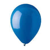 "10 PCS 12"" LATEX BALLOON - BLUE (24 PCS) PF-6924"