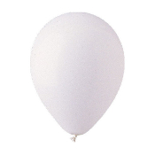 "10 PCS 12"" LATEX BALLOON - WHITE (24 PCS) PF-6925"