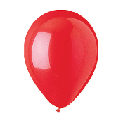 "12 PCS 12"" LATEX BALLOON - RED (24 PCS) PF-6928"