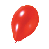 "10 PCS 12"" PEARLIZED LATEX BALLOON - RED (24 PCS) PF-6936"