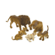 SALE! 6 PCS LION FAMILY (12 SETS) NV-675