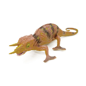 "SALE! THREE HORNED CHAMELEON 4""H (4 PCS) NV-620"