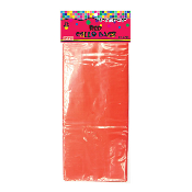 "25 PCS RED CELLO BAGS 5""W X 11.5""L X 3""D (24 PACKS) PF-6743"
