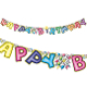"BIRTHDAY BASH - 7"" X 98"" LETTER BANNER (24 PACKS) PF-5822"