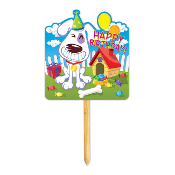 SALE! GROOVY DOG - YARD SIGN (24 PACKS) PF-25546
