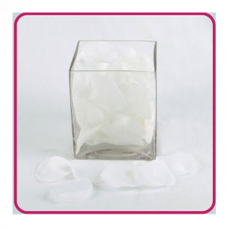 240 PCS ROSE PETALS - WHITE (24 PACKS) 11846