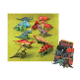 "9"" DINOSAURS - 12 ASSORTMENT (48 PCS) 33281"
