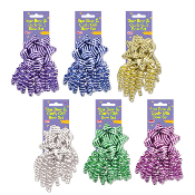STRIPE GIFT BOW SET ASSORTED (24 PACKS) PF-6859