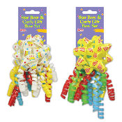 2 PCS BIRTHDAY GIFT BOW SET ASSORTED (24 PACKS) PF-6860