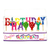 HAPPY BIRTHDAY PICK CANDLE SET (12 PCS) PF-6808