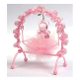 SALE! BABY CRADLE WITH BEAR PINK (24 PCS) PF-6436