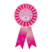 RIBBON BADGES - BIRTHDAY PRINCESS (24 PCS) PF-6529