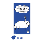 "BLUE - 54"" X 108"" TABLECOVER (24 PACKS) PF-6702"