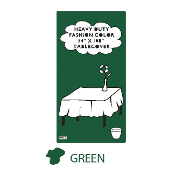 "GREEN - 54"" X 108"" TABLECOVER (24 PACKS) PF-6710"
