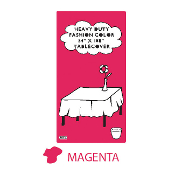 "MAGENTA - 54"" X 108"" TABLECOVER (24 PACKS) PF-6723"