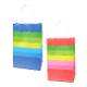 SALE! 144 PCS STRIPES SMALL KRAFT GIFT BAGS ASSORTED PF-2236