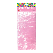 "25 PCS L. PINK CELLO BAGS 5""W X 11.5""L X 3""D (24 PACKS) PF-2045"