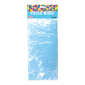 "25 PCS L. BLUE CELLO BAGS 5""W X 11.5""L X 3""D (24 PACKS) PF-2046"