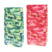 10 PCS CAMOUFLAGE PAPER SACKS (24 PACKS) PF-2123