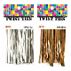 "120 PCS 3.5"" TWIST TIES ASSORTED (24 PACKS) PF-2293"