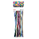 "50 PCS 7.25"" TWIST TIES MULTI COLORS (24 PACKS) PF-2295"