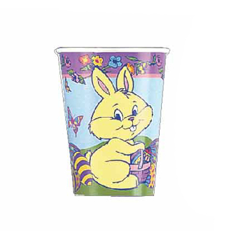 SALE! 8 PCS 9 OZ EASTER RABBIT CUPS (48 PCS) PF-2800