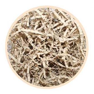 1.5 OZ PAPER SHREDS - NATURAL (24 PACKS) PF-2319