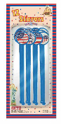 SALE! 12 PCS STIRRERS - PATRIOTIC (48 PKT) PF-7107