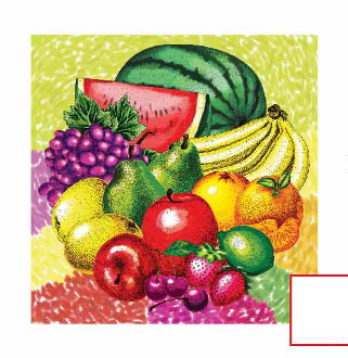 SALE! 16 PCS LUNCHEON NAPKIN - TROPICAL FRUITS (48 PCS) PF-20702