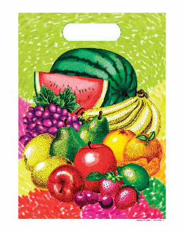 SALE! 8 PCS LOOT BAG - TROPICAL FRUITS (48 PCS) PF-20710