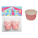 "20 PCS 2"" X 1.25"" POLKA DOT PARTY CUPS - PINK (24 PACKS) PF-2226"
