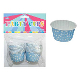"20 PCS 2"" X 1.25"" POLKA DOT PARTY CUPS - BLUE (24 PACKS) PF-2227"