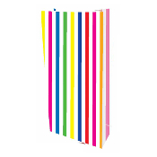 10 PCS WHITE STRIPES PAPER SACKS (24 PACKS) PF-2138