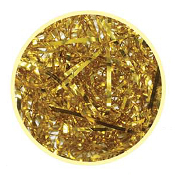 1 OZ FOIL SHREDS - GOLD (24 PACKS) PF-2359