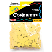 1 OZ YELLOW DOT CONFETTI (24 PACKS) PF-2073