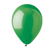 "10 PCS 12"" LATEX BALLOON - GREEN (24 PCS) PF-6922"