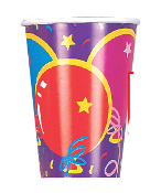 SALE! 8 PCS 9 OZ CUPS - PARTY BALLOONS (48 PCS) PF-10100