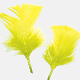 0.49 OZ YELLOW FEATHERS (24 PACKS) PF-2463