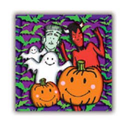SALE! HALLOWEEN FAMILY - 16 PCS LUNCH NAPKIN (48 PACKS) PF-14602
