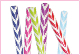 "ZIGZAG WRAPPING PAPER ASSORTED 30""X60"" (72 ROLLS) PF-2785"